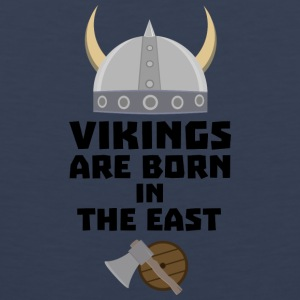 Vikings are born in the East Sxli7 Sports wear - Men's Premium Tank Top