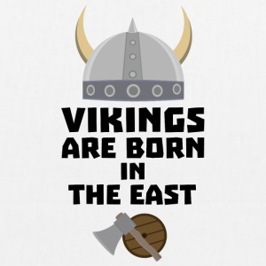 Vikings are born in the East Sxli7 Bags & Backpacks - EarthPositive Tote Bag