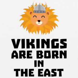 Vikings are born in the East S37dx Bags & Backpacks - EarthPositive Tote Bag