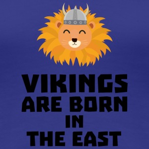 Vikings are born in the East S37dx T-Shirts - Women's Premium T-Shirt