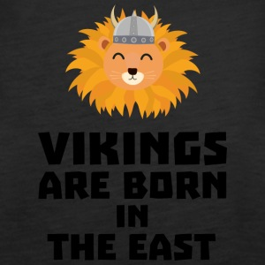 Vikings are born in the East S37dx Tops - Women's Premium Tank Top