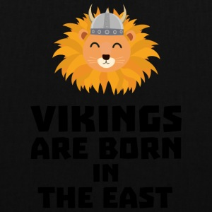 Vikings are born in the East S37dx Bags & Backpacks - Tote Bag