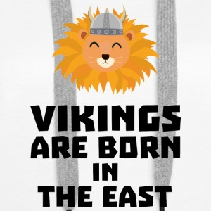 Vikings are born in the East S37dx Hoodies & Sweatshirts - Women's Premium Hoodie