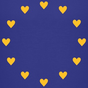 Europe Hearts, Pulse of EU, I love European Union  Skjorter - Premium T-skjorte for barn