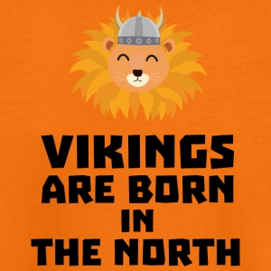 Vikings are born in the North S08u5 Shirts - Teenage Premium T-Shirt
