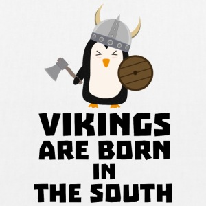 Vikings are born in the South S5l65 Bags & Backpacks - EarthPositive Tote Bag