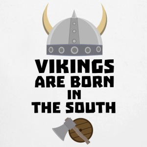 Vikings are born in the South Sb82s Baby Bodysuits - Longlseeve Baby Bodysuit