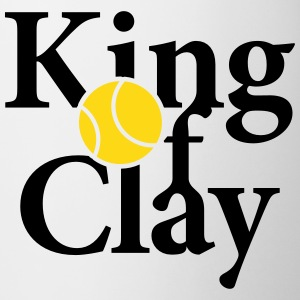 King of Clay Tennis Ball Tassen & Zubehör - Tasse