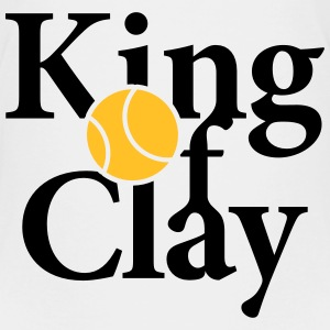 King of Clay Tennis Ball T-Shirts - Teenager Premium T-Shirt