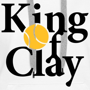 King of Clay Tennis Ball Pullover & Hoodies - Frauen Premium Hoodie