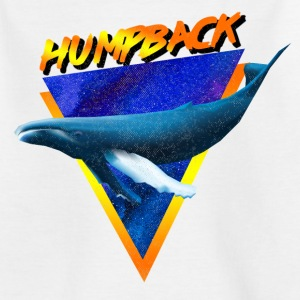 humpback whale - Kids' T-Shirt