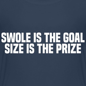 SWOLE IS THE GOAL Skjorter - Premium T-skjorte for barn