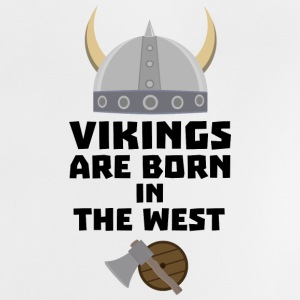 Vikings are born in the West S7kea Baby Shirts  - Baby T-Shirt