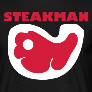 Schwarz steakman T-Shirts - Men's T-Shirt