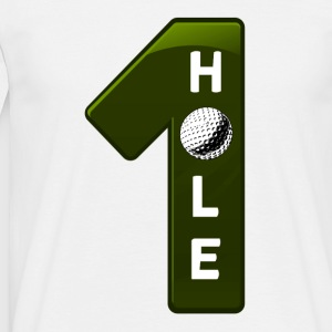 hole-in-one-grün - Männer T-Shirt