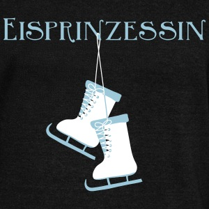 Eisprinzessin - Schlittschuhe Hoodies & Sweatshirts - Women's Boat Neck Long Sleeve Top