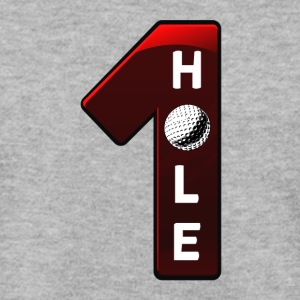 hole in one rot - Männer Pullover