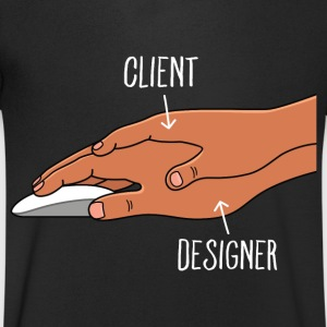 Client & Designer T-Shirts - Men's V-Neck T-Shirt