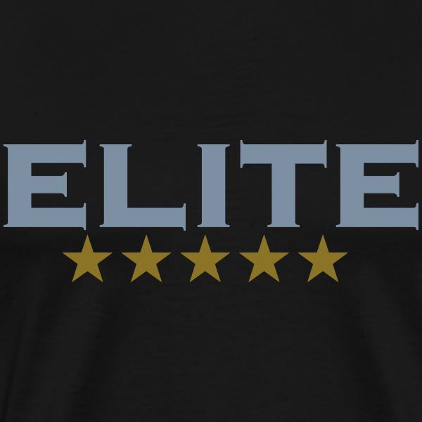ELITE, 5 stars, For the Best of the Best! T-shirts - Herre premium T-shirt