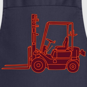 Fork-lift truck 2  Aprons - Cooking Apron