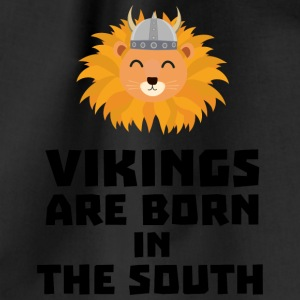 Vikings are born in the South Slbx6 Bags & Backpacks - Drawstring Bag