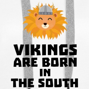 Vikings are born in the South Slbx6 Hoodies & Sweatshirts - Women's Premium Hoodie
