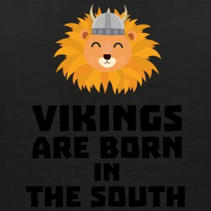 Vikings are born in the South Slbx6 T-Shirts - Women's V-Neck T-Shirt