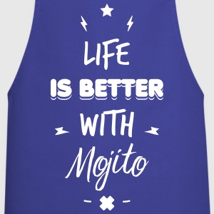 life is better with mojito Tabliers - Tablier de cuisine