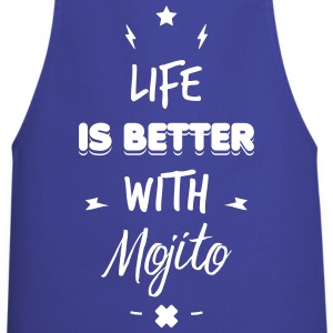 life is better with mojito Fartuchy - Fartuch kuchenny