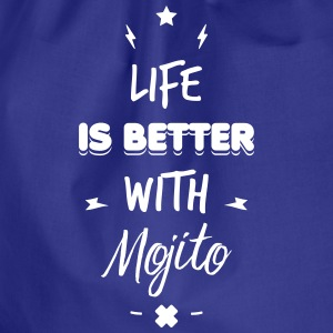 life is better with mojito Vesker & ryggsekker - Gymbag