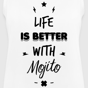 life is better with mojito Vêtements Sport - Débardeur respirant Femme