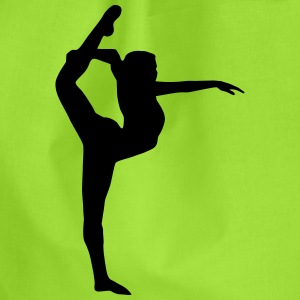 Yoga, Dancer, Gymnast Bags & Backpacks - Drawstring Bag