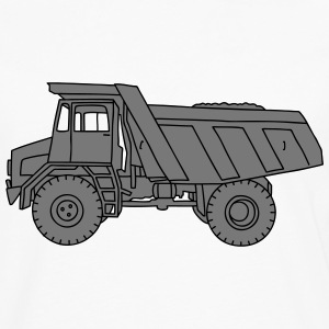 Dump truck or semitrailer 2 Long sleeve shirts - Men's Premium Longsleeve Shirt