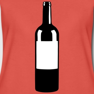 Wine Bottle Tee shirts - T-shirt Premium Femme