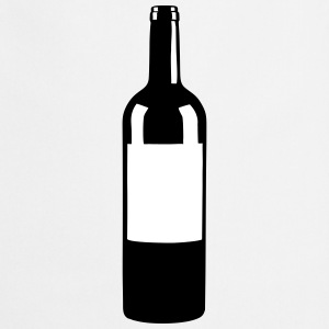 Wine Bottle Delantales - Delantal de cocina
