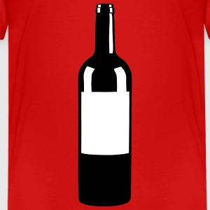 Wine Bottle Shirts - Teenage Premium T-Shirt