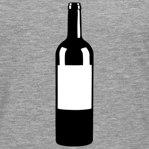 Wine Bottle Manga larga - Camiseta de manga larga premium hombre