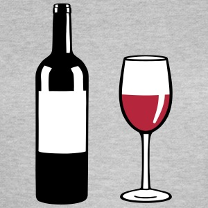 Wine Bottle T-shirts - Vrouwen T-shirt