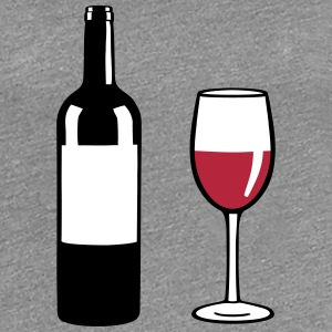 Wine Bottle T-Shirts - Women's Premium T-Shirt