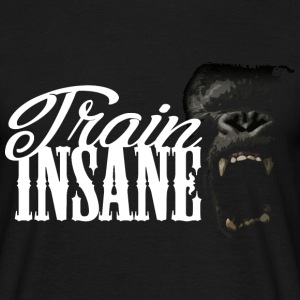 train insane gorille Tee shirts - T-shirt Homme