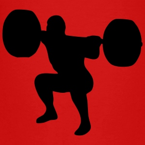 weightlifting, weightlifter, weight lifter Shirts - Kinderen Premium T-shirt