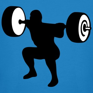 weightlifting, weightlifter, weight lifter T-shirts - Organic mænd