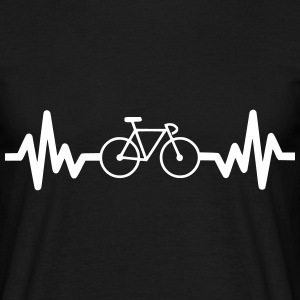 Bike is life Bicicleta t-shirt  - Camiseta hombre