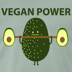 Vegan Power - Männer Premium T-Shirt
