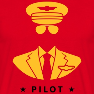 Pilote Tee shirts - T-shirt Homme