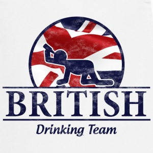 BRITISH DRINKING TEAM  Aprons - Cooking Apron