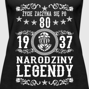 1937 - 80 lat - Legendy - 2017 - PL Topper - Premium singlet for kvinner