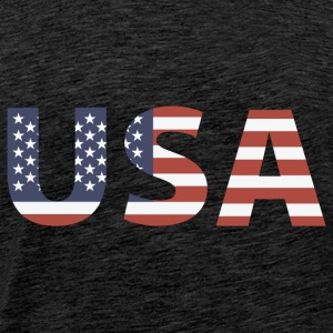 USA - Stars and Stripes Tee shirts - T-shirt Premium Homme