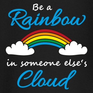 Be a rainbow in someone's cloud Långärmade T-shirts baby - Långärmad T-shirt baby