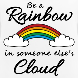 Be a rainbow in someone's cloud Sportbekleidung - Frauen Tank Top atmungsaktiv